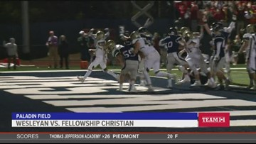 Team 11: Wesleyan vs. Fellowship Christian
