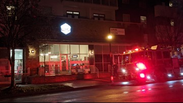 One hurt in apartment fire in northwest Atlanta