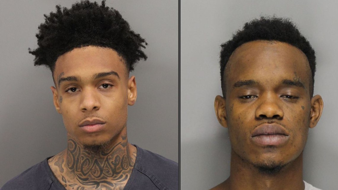 In 20 minutes, two men committed three violent crimes. Marietta police quickly arrested them.