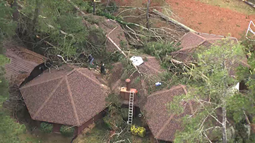 EF-1 tornado touched down near Riverdale, uprooted and snapped trees, National Weather Service says