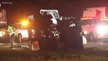 Multi car crash leaves all lanes blocked on I-675 SB