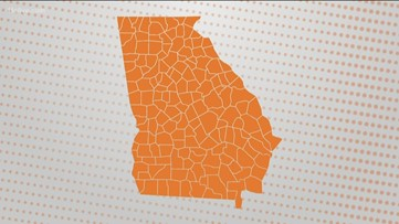 Why does Georgia have so many counties?