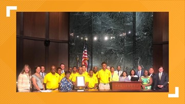 First all-black golf team to win state championship in Georgia honored by Atlanta City Council