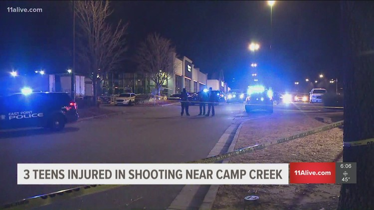 3 teens injured in shooting at Camp Creek Marketplace