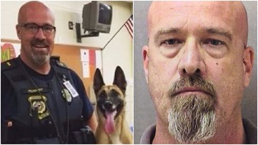Former Cherokee County officer convicted in deaths of two K-9s