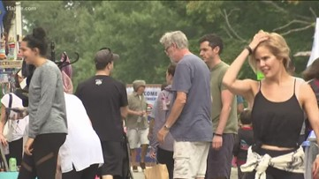 Candler Park Fall Festival benefits from cooler temps