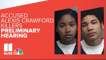 Probable cause for cases to proceed against both accused killers of Alexis Crawford