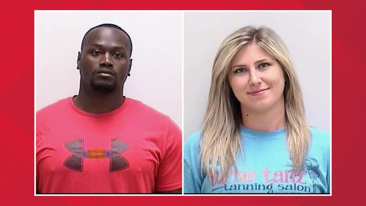 Deputy, fiance arrested after confrontation with neighbor caught on camera