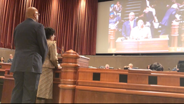 South Fulton County residents protest county's return of block grant money