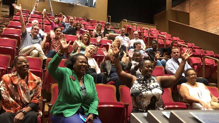 Atlanta Theatre Company opening gala tour