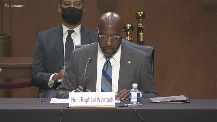 Senate committee discusses voting rights