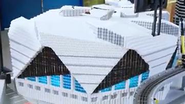 Legoland creates mini Mercedes-Benz Stadium just in time for Super Bowl