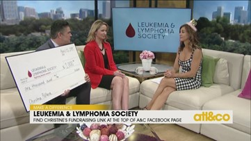 Christine's $50K fundraising goal for the Leukemia & Lymphoma Society