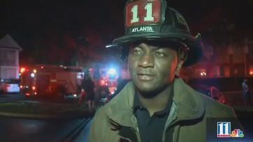 Updates on downtown Atlanta apartment fire