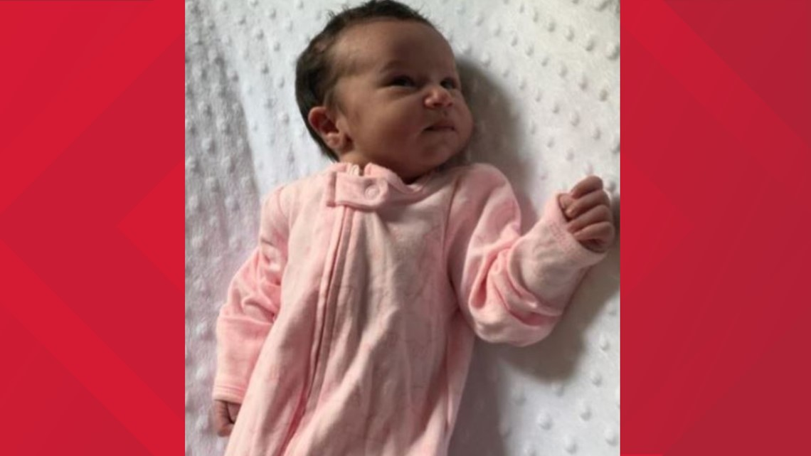 Baby India: Police release new photos of infant who was found abandoned in Forsyth Co. woods