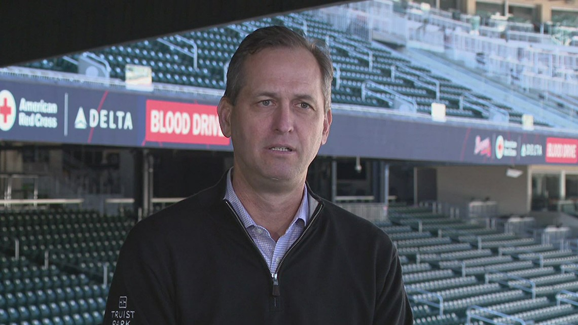 Atlanta Braves President Derek Schiller reflects on financial losses durind COVID pandemic