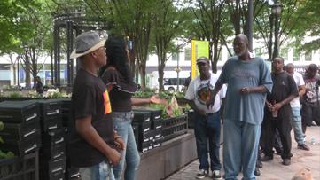 Atlanta woman organizes Father's Day giveaway for homeless men of Atlanta