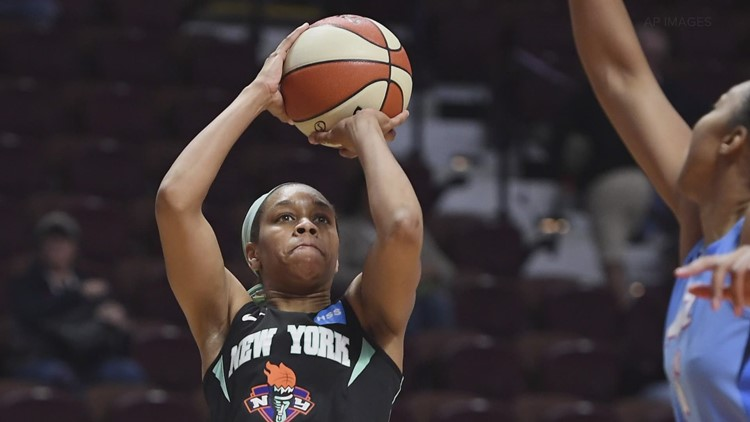 WNBA rising star Asia Durr's fighting for career after COVID-19