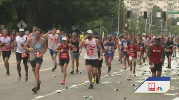 AJC Peachtree Road Race: From start to finish - Part 2