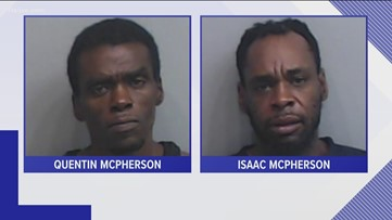 Two brothers arrested for assaulting Atlanta officer, taking his weapon