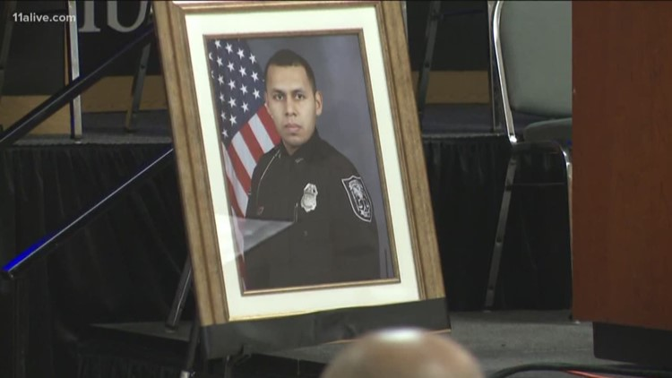 Fallen DeKalb Police officer remembered as genuine, family man during visitation