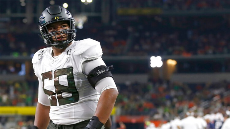 Atlanta Falcons take best player available in new mock draft