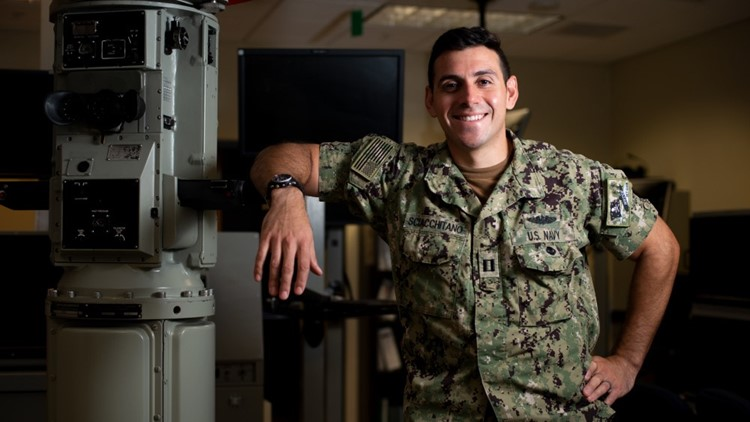 Marietta native named 2020 Naval Education and Training Command Officer Instructor of the Year