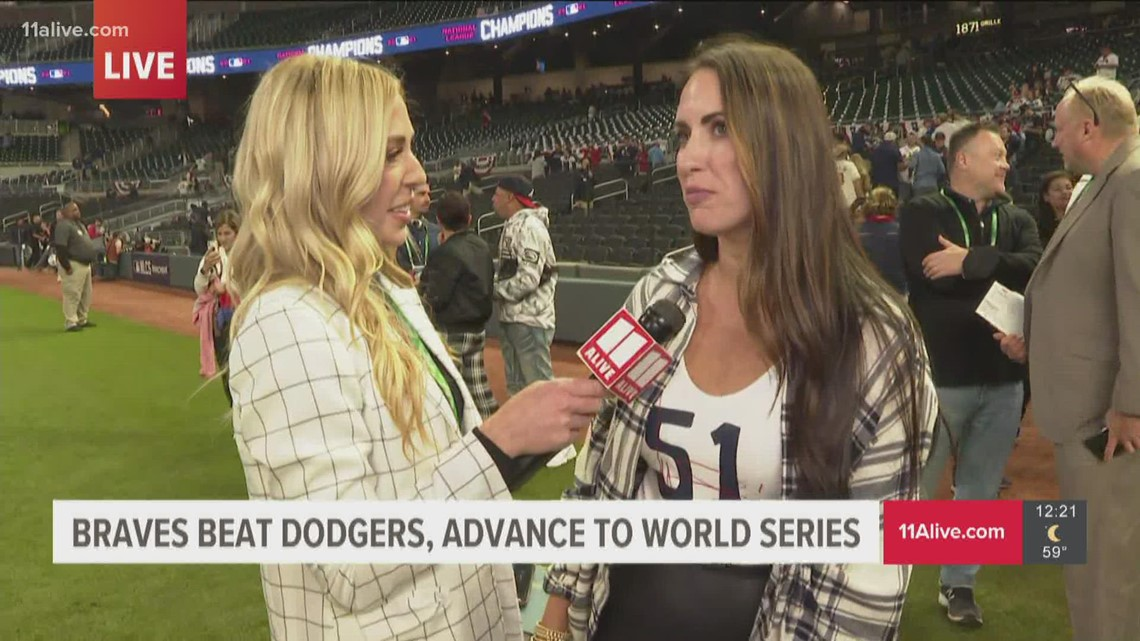 Wife of Braves' Will Smith weighs in on nerves ahead of NLCS Game 6