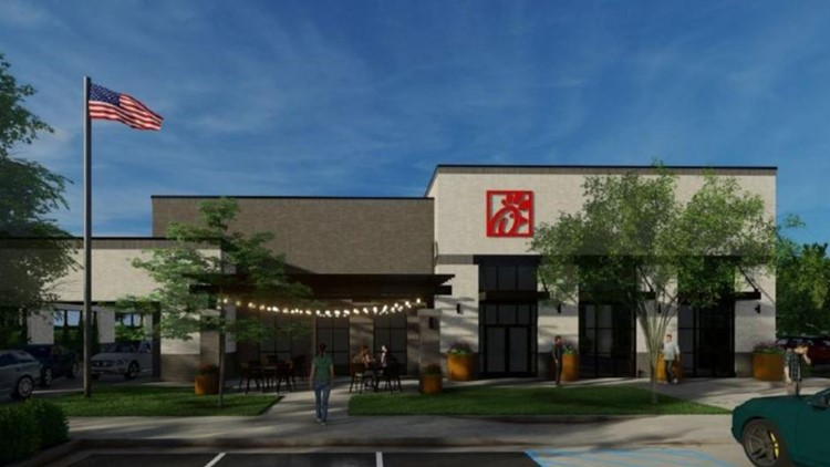 First Look: This is the modernized Chick-fil-A being rebuilt near North Point Mall