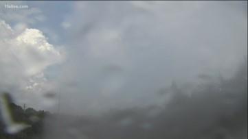 Showers pass through parts of metro Atlanta