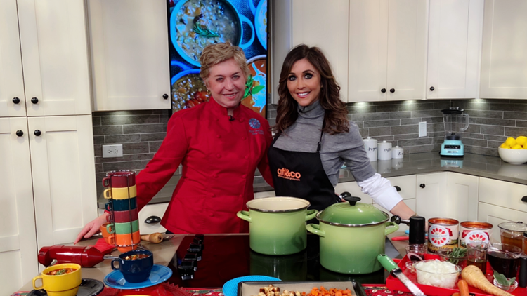 Savory Soup Recipes with Chef Nancy