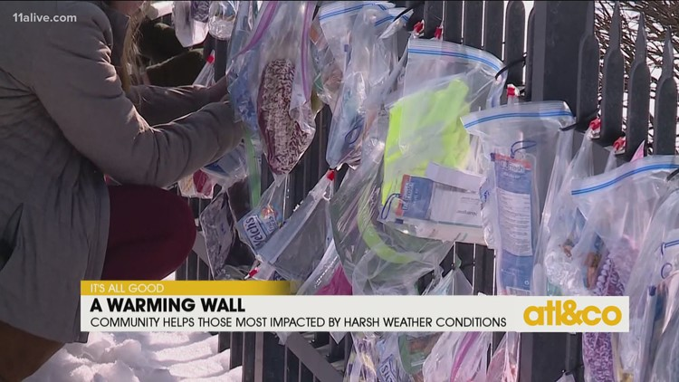 Walls of Love to Help Those Impacted by Harsh Winter