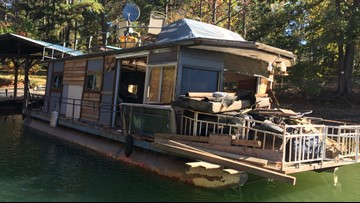 'Ghost' boats removed from Lake Lanier