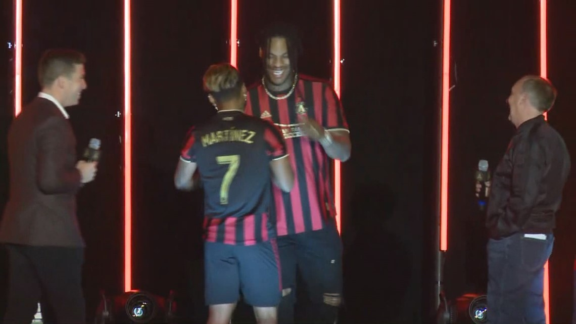 Atlanta United   Here's the full viewing of ATLUTD's kit-unveiling ceremony