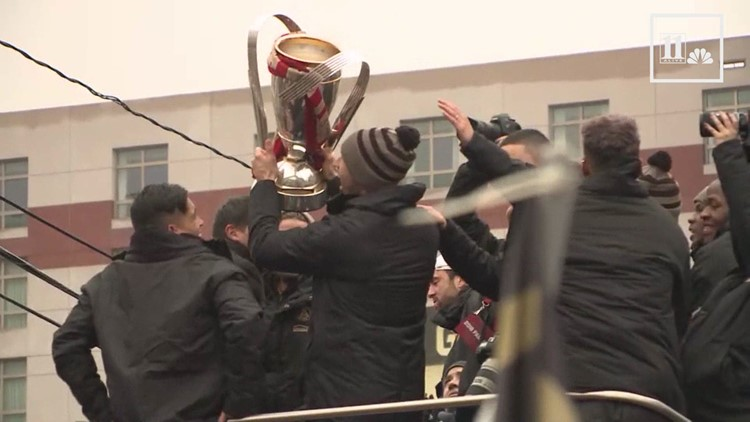 Re-watch the Atlanta United parade