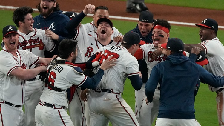 Celebration will have to be short as Braves turn attention to World Series Game 1