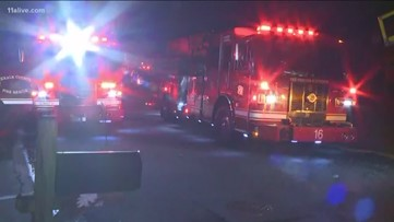Family of seven forced out of home by early morning fire