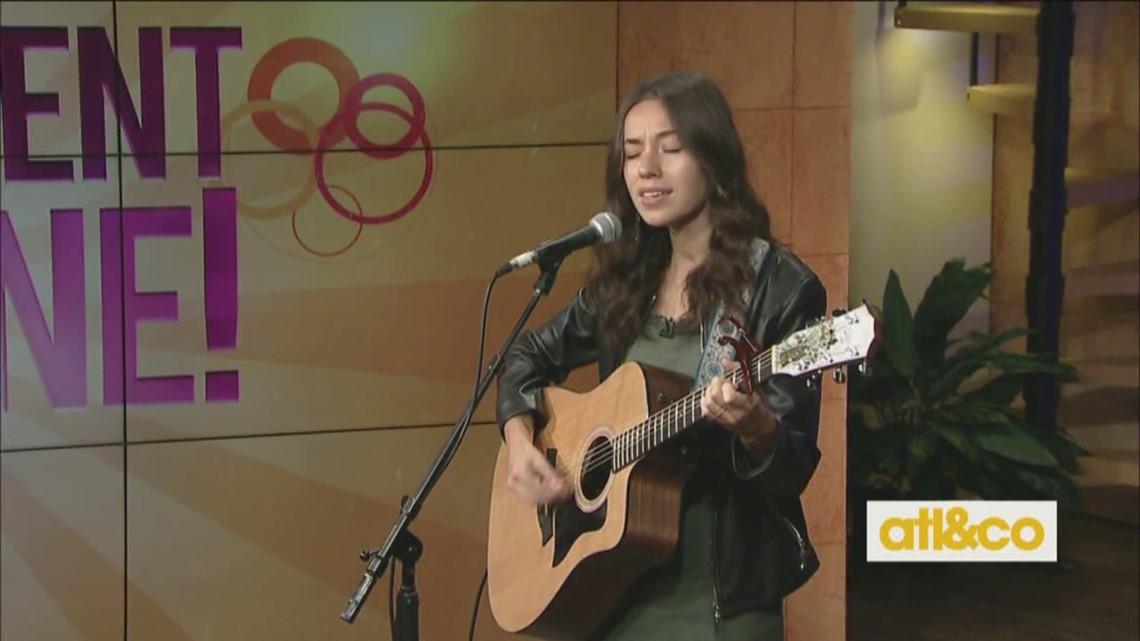 Grace Milton performs on A&C