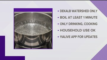 DeKalb County under boil water advisory until further notice