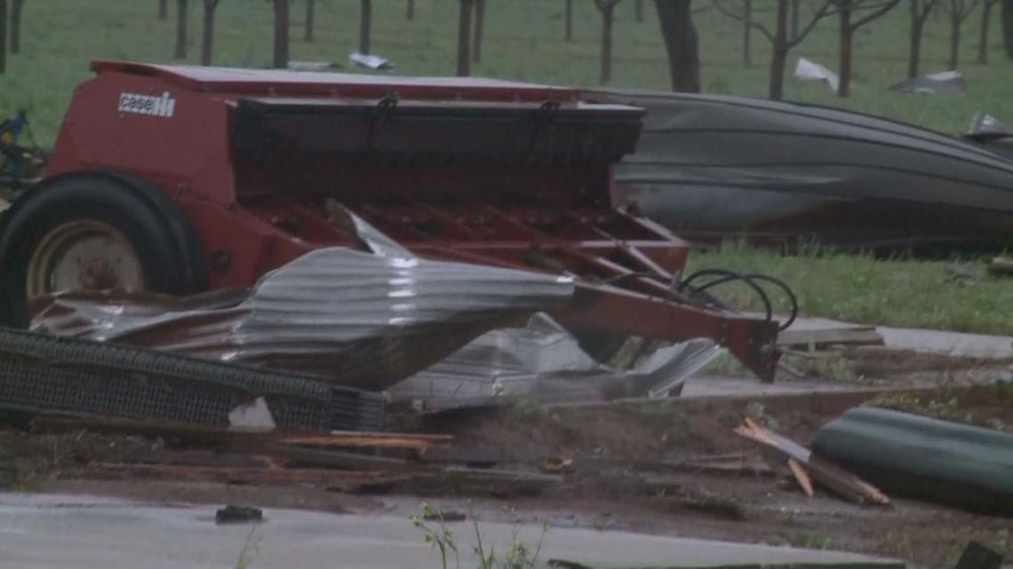 Georgia tornado was EF-3, National Weather Service says | 11alive com