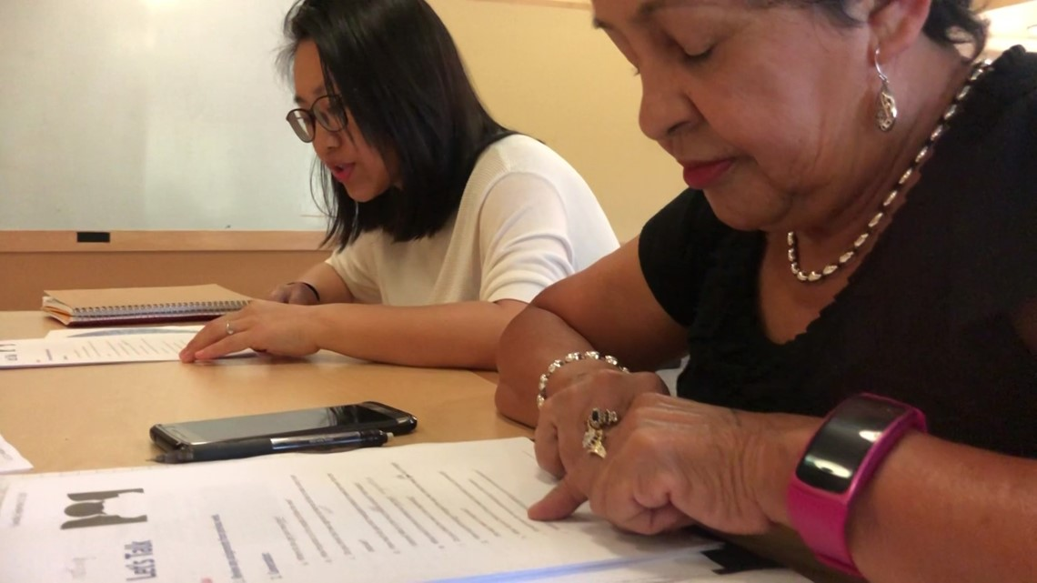 'Let's Talk' meetups allow residents to practice English