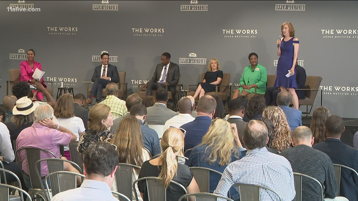 Atlanta mayoral candidates offer their visions for combating crime