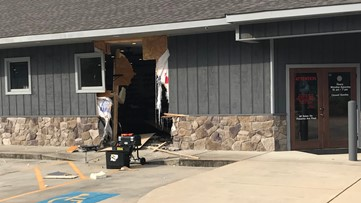 Burglars drive truck through armory, steal 'undetermined' number of handguns, rifles