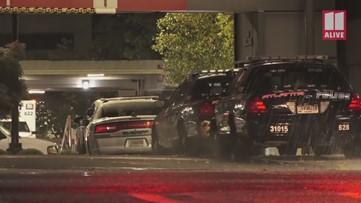 Police, deputies arrive at Atlanta Medical Center after officer injured in Rockdale County