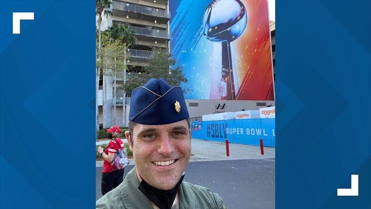 Metro Atlanta man part of Air Force flyover crew for Super Bowl LV