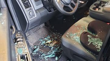 Veteran's truck broken into at MARTA station; He believes he was targeted