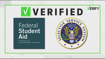 VERIFY: The connection between FAFSA and the military draft