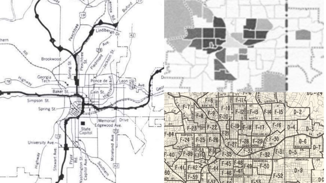 traffic map atlanta ga Historian Explains How Modern Atlanta Traffic Traces Back To