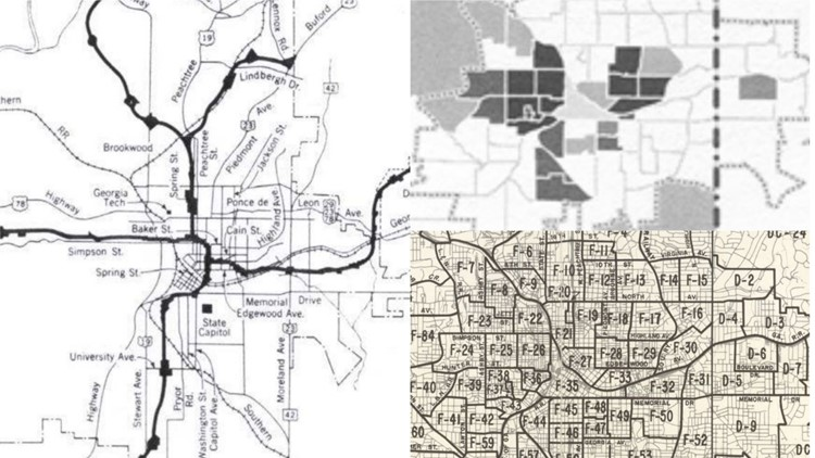 Historian explains how modern Atlanta traffic traces back to ... on interstate 575 georgia map, highway 29 georgia map, interstate 16 georgia map, interstate 95 georgia map, i-16 georgia map, us interstate road map, lafayette ga map, interstate 285 georgia map, northern highway 5 exits map, i 20 map, atlanta interstate map, georgia state highway map, interstate 85 georgia map, interstate 75 georgia map, interstate 95 road map, i20 georgia map, georgia hwy map, georgia road map, hwy 95 map, interstate weather map,