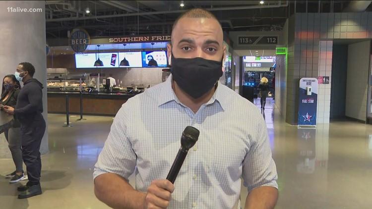 COVID concerns amid NBA All-Star Game in Atlanta